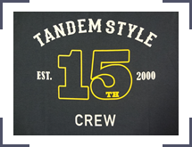 TS 15th Tシャツ 背面