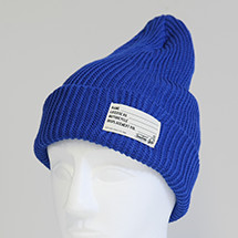 TS KNIT CAP BLUE