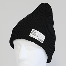 TS KNIT CAP BLACK