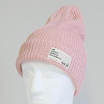 TS KNIT CAP PINK