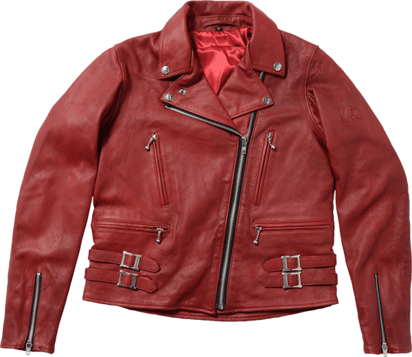 BFJ03 THE BLACK FLAG LADIES DOUBLE RIDERS JACKET
