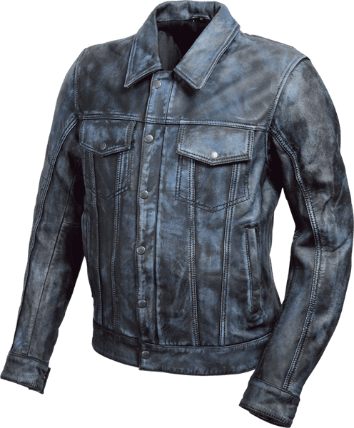 19SJ-7 SHEEP LEATHER JACKET