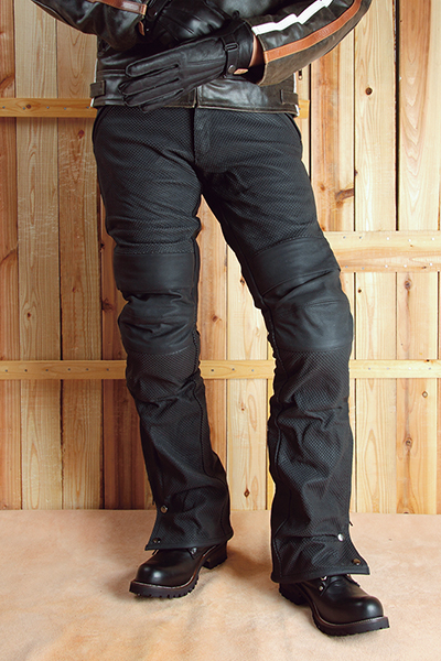 DP-22P MESH LEATHER PANTS
