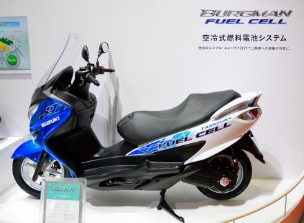BURGMAN FUEL CELL バーグマンフューエルセル 東京モーターショー2015