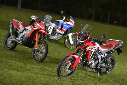 CRF1000L AFRICA TWIN その詳細に迫る!! ④ パリダカマシンを振り返る