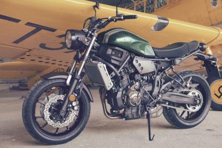 MT-07ベースのスポーツヘリテージモデル・XSR700が欧州で販売開始!!