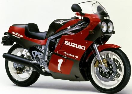 【GSX-R750 30年間の軌跡】1986年 GSX-R750R