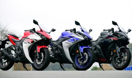 YZF-R1の血統を受け継いだ250ccスーパーバイク・YZF-R25