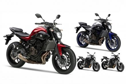 新色&新グラフィックを採用したMT-07/ABSの2016年モデルが登場!!