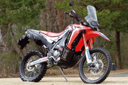 HONDA CRF250RALLY prototype