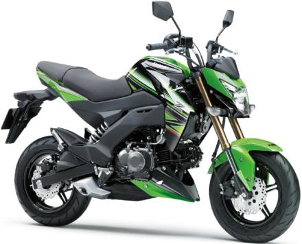 Z125PRO KRT Editionが500台限定で2016年11月より販売を開始
