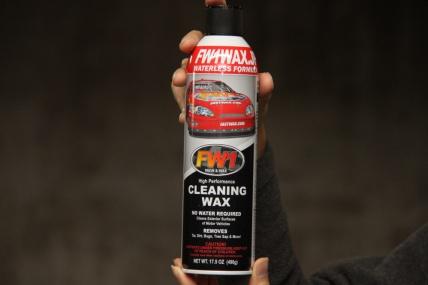 水不要の洗車ワックス『FW1』を試してみた