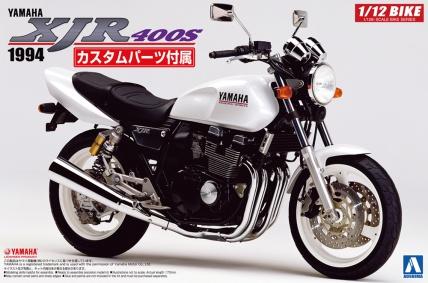 AOSHIMAから1/12スケールの『XJR400S カスタムパーツ付き』と『GPz400F』が新発売