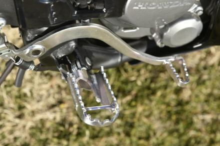 HONDA・CRF250ラリーのブレーキペダル