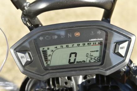HONDA・CRF250ラリーのメーター