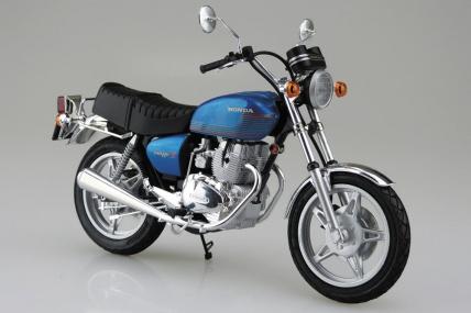 AOSHIMA 1/12スケールの『ホンダ ホークII CB400T』と『ヤマハ XJ400』が再販売