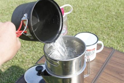 キャンプでおいしいコーヒーが飲みたい!