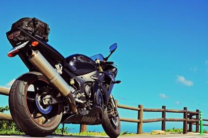 海! 空! 山! バイクー!