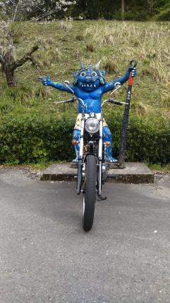 鬼に金棒とバイク