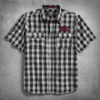 HARLEY-DAVIDSON Chain Stitch Plaid Shirt