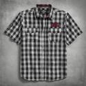 HARLEY-DAVIDSON Chain Stitch Plaid Shirt