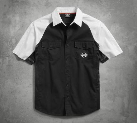 HARLEY-DAVIDSON Performance Vented Contrast Shirt