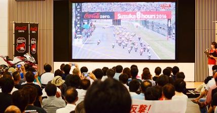 """Honda """"鈴鹿8耐40周年""""記念トークショー"""