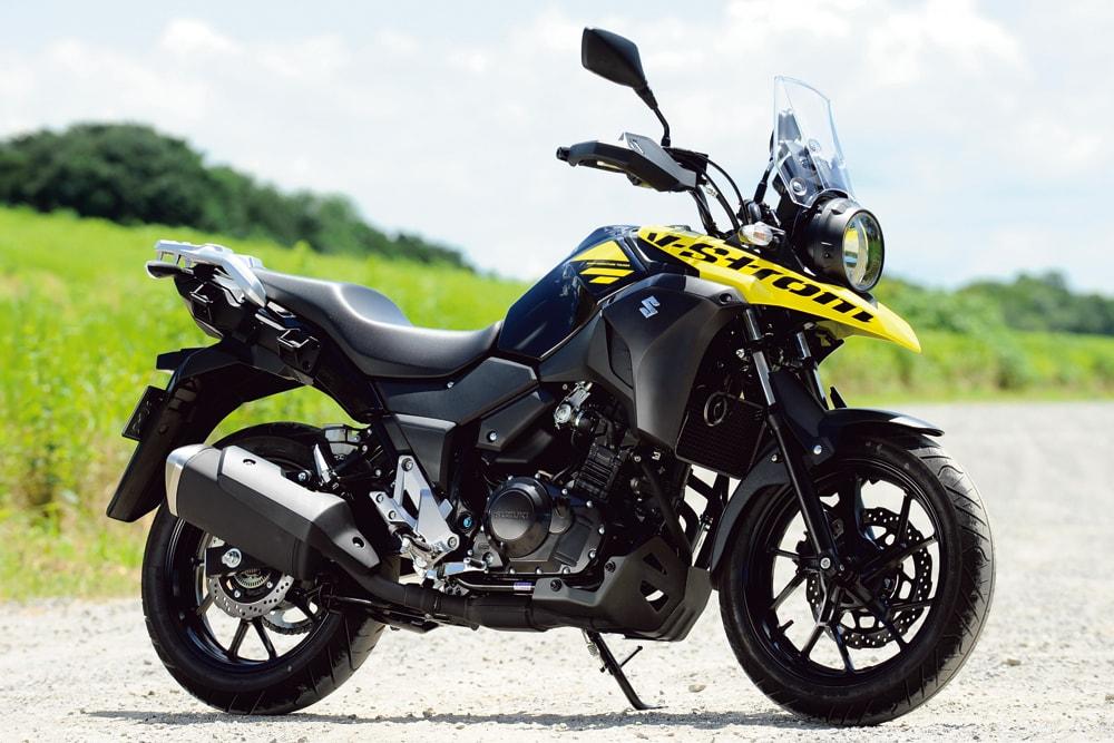 SUZUKI V-STROM250:250ccクラス...