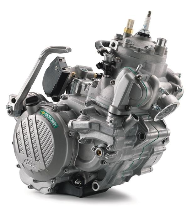 KTMの250EXC TPIのエンジンは2ストながらインジェクションを採用