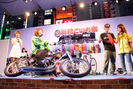 【イベントレポート】第22回 新橋こいち祭りにオートレーサー登場!