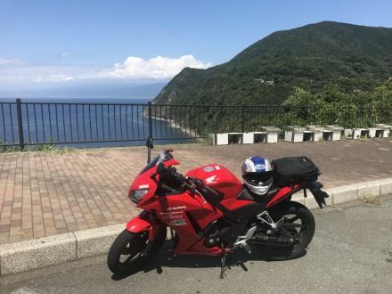 海と山とバイクと。