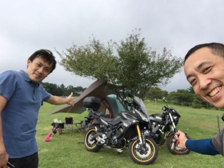 内山牧場キャンプツーリング