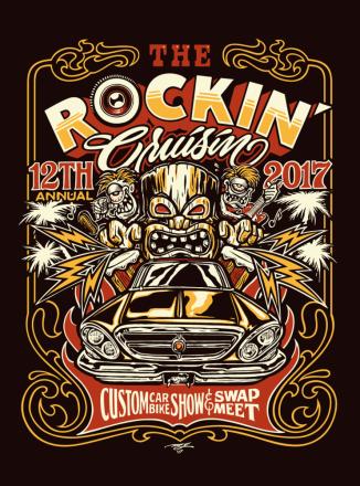 2017 The Rockin' Cruisin annual 12th