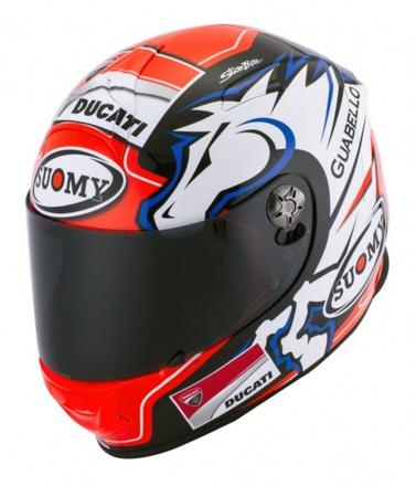 SUOMYからアンドレア・ドヴィツィオーゾ選手をイメージしたヘルメット『DOVIZIOSO GP DUCATI』が登場