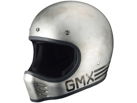 RIDEZからビンテージモトクロスタイプのヘルメット『G-MX LTD Steely/Curvy』が登場