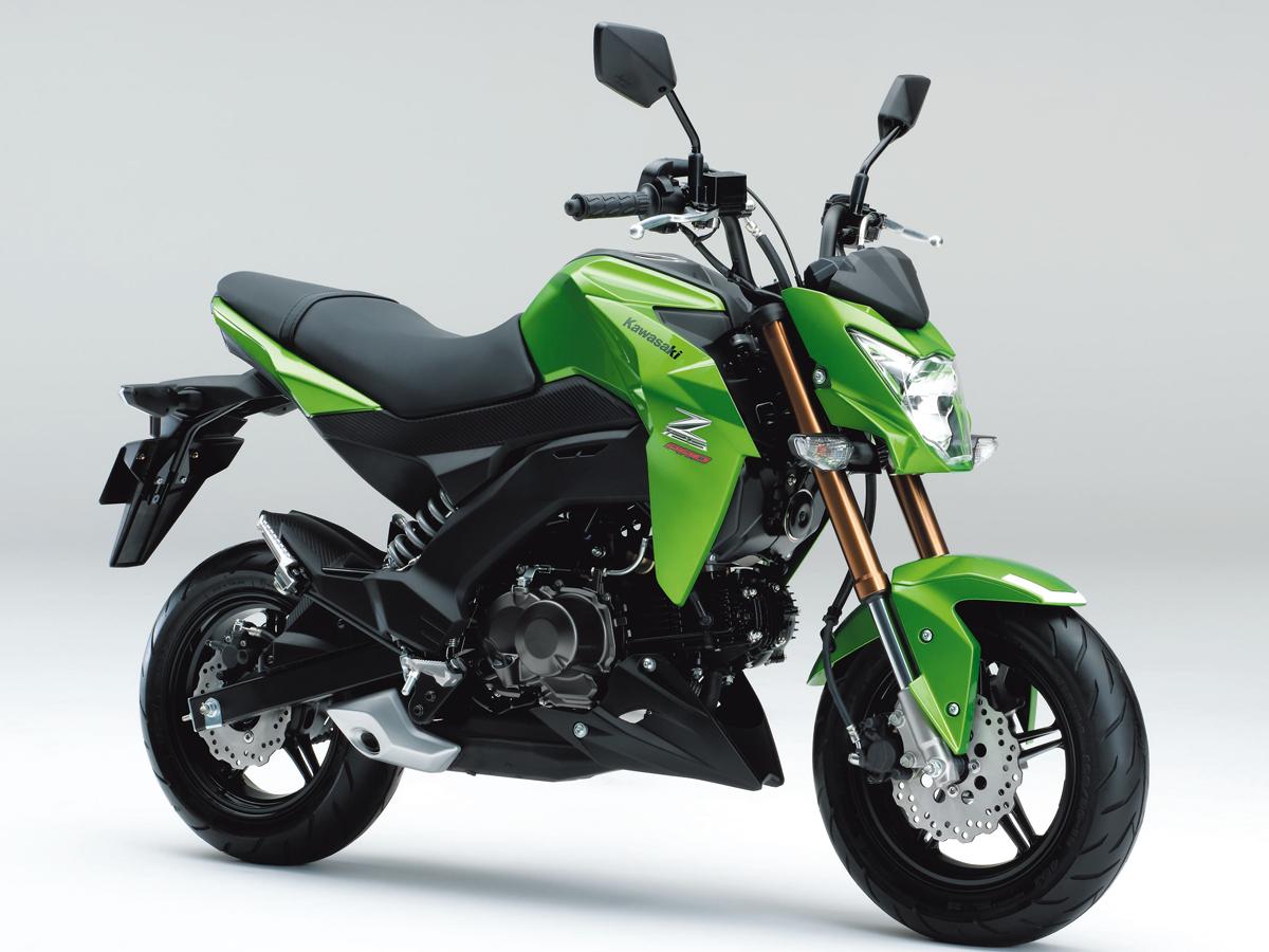 2017 Kawasaki Z125 Pro >> GSX-S125 ABSと国内メーカーの原付2種MTモデル・GROM、Z125 PROの3台をスペックで比較 ...