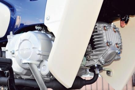 ホンダのスーパーカブ50のエンジン