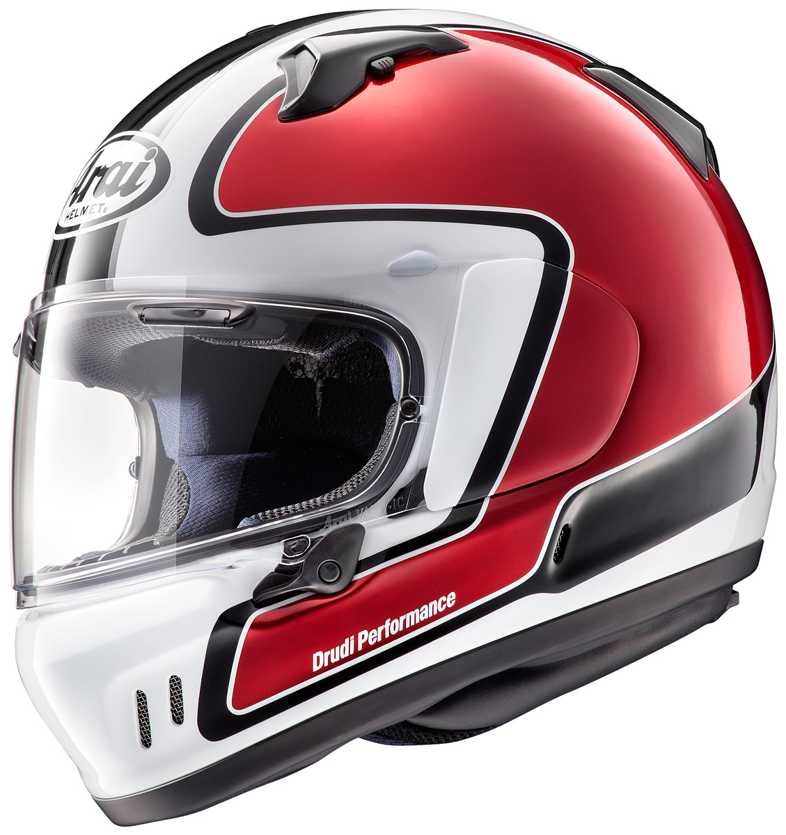 Arai xd outline red p