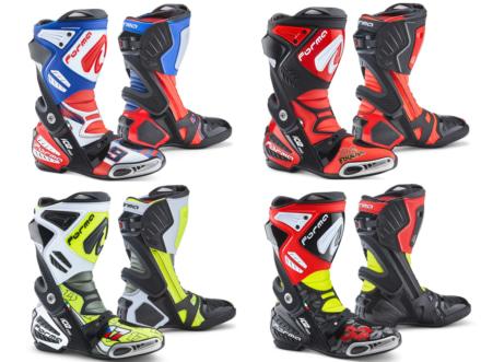Formaより、MotoGPライダーのレプリカグラフィックを採用した限定ライディングブーツが登場