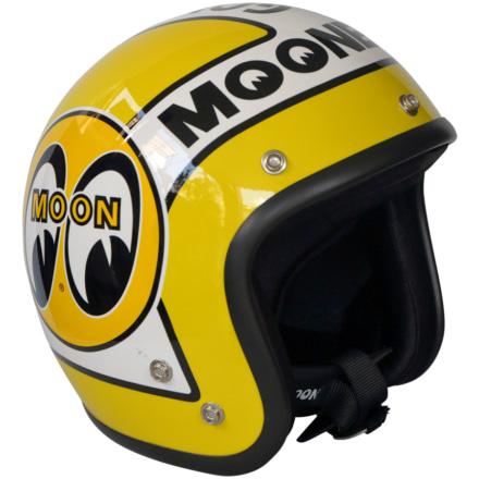 オリオンエースより、MOONEYESロゴを前面に押し出したヘルメット&グローブが登場