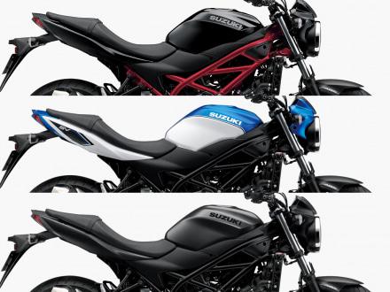 カラーバリエーションを一新した2018年モデルのSUZUKI SV650 ABSが1月26日より販売開始