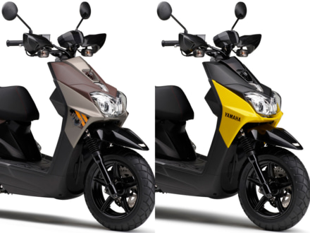 カラーバリエーションを一新した2018年モデルのBW'S125が、2月10日より販売をスタート