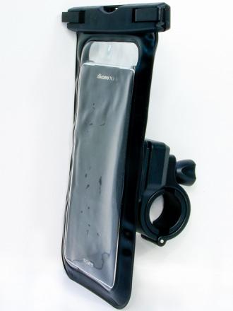 RIDEZより、完全防水の汎用スマートフォンホルダーが登場