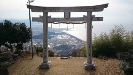 高屋神社からの景色