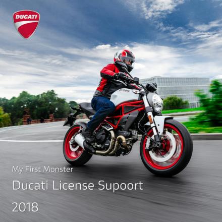 DUCATIがMonster797の新車購入者を対象としたライセンスサポートキャンペーンを実施中!2018年2月1日~6月29日までの期間限定