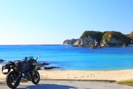青い海 白い砂浜 ひとりじめ