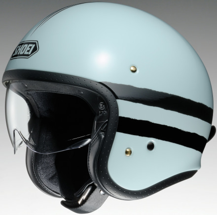 SHOEIのインナーバイザー付きジェットヘルメットJ・Oに、新グラフィックSEQUELが登場