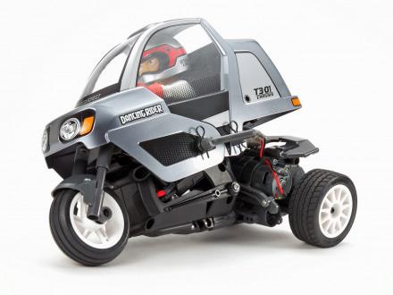 タミヤから動きが楽しい3輪ラジコン『ダンシングライダー(組み立てキット)』が発売中