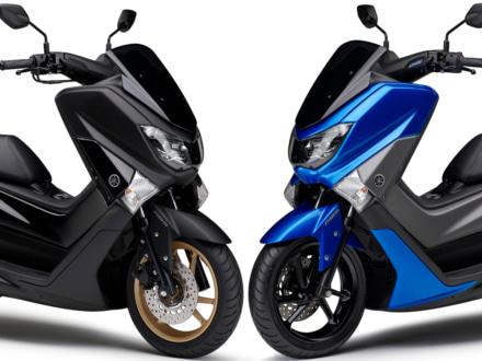 2018年モデルのNMAX155 ABSが3月20日より販売開始!新色マットブラックとブルーが登場