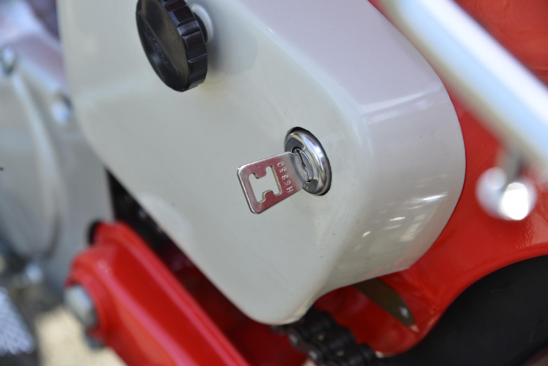ホンダ・ハンターカブ90Trail CT200のイグニッション